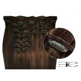 Extensions de cheveux à clips synthétiques