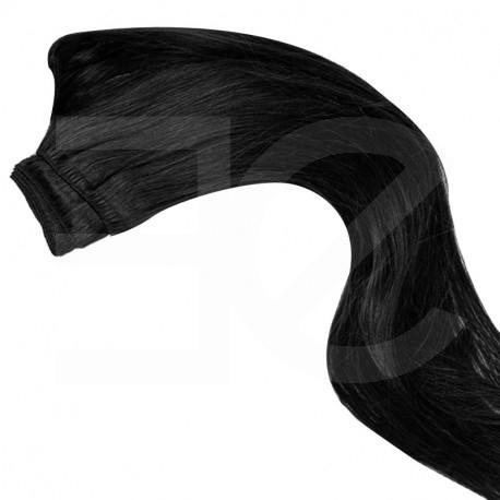 Tissage naturel noir 50 cm
