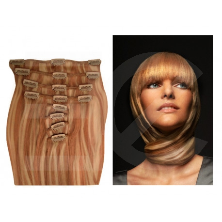 extension a clip blond dor m ch blond clair. Black Bedroom Furniture Sets. Home Design Ideas