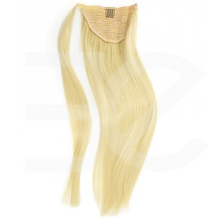 Ponytail - Queue de cheval blond clair à enrouler 50 cm