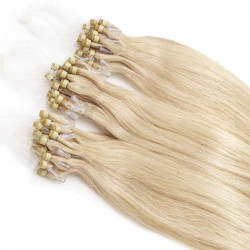 Extensions blondes platines