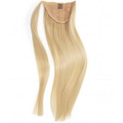 Ponytail Remy hair blond cendré 50 cm