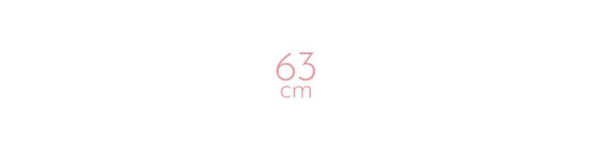 Extensions à chaud raides 63 cm