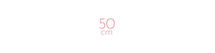 Extensions à chaud frisées 50 cm
