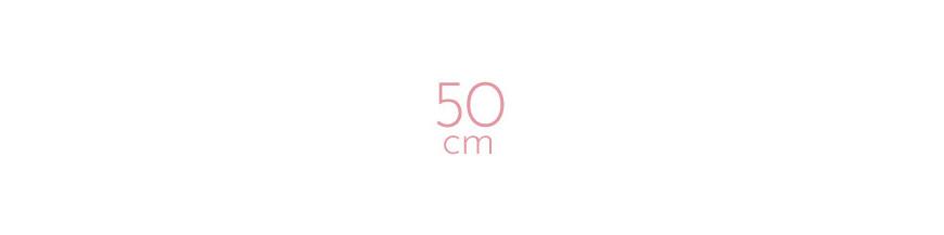 Extensions à clip synthétiques raides 50 cm