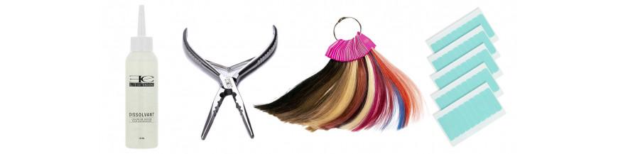 Accessoires de pose d'extension cheveux